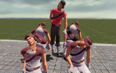 tf2_scout_baseball_bill_sports For Garry's Mod Image 1