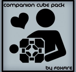 companion_cube_pack.zip For Garry's Mod Image 1