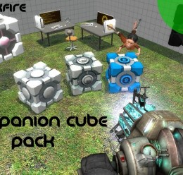 companion_cube_pack.zip For Garry's Mod Image 2