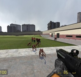 Headcrabless Zombie SNPCs For Garry's Mod Image 1