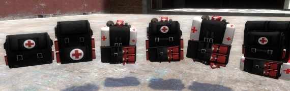 FO3 Custom Medic Backpacks