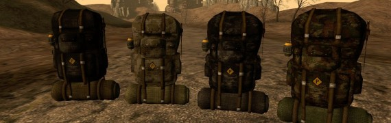 FO3 Custom Camping Backpack