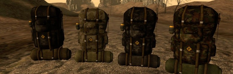 FO3 Custom Camping Backpack For Garry's Mod Image 1