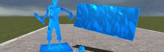 Cobalt Blue Material