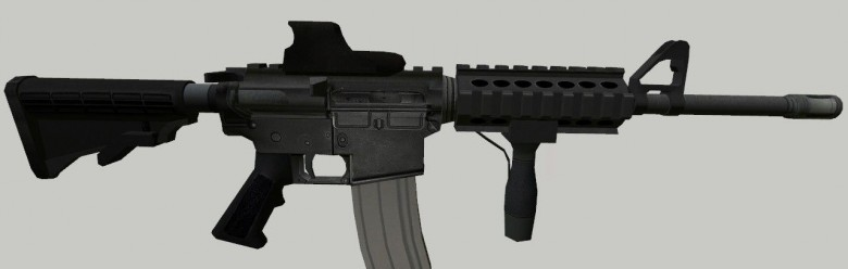 M4A1 with holographic scope For Garry's Mod Image 1