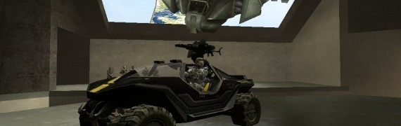 Halo Drivable Vehicles