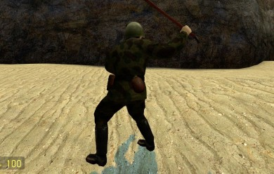 Chinese Soldier Playermodel For Garry's Mod Image 2