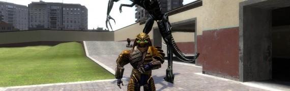 Alien Queen and Alien Emperess