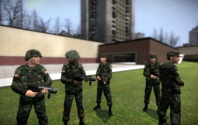 WIC Style Soldiers V2.1 For Garry's Mod Image 1