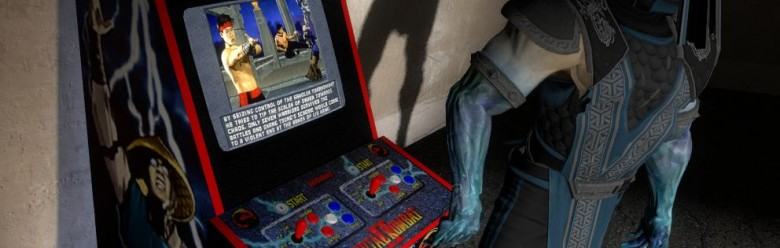 Mortal Kombat 2 Arcade Machine For Garry's Mod Image 1