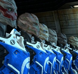 Blue Suns Turian Females Hexed For Garry's Mod Image 2
