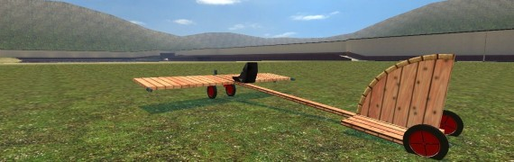Wire Wooden Airplane v1.0