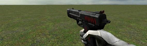 Albino Gloves + Scar Pistol