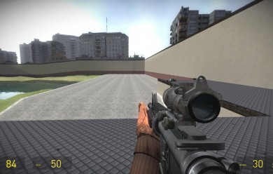 battlefield_3_m4a1_addon.zip For Garry's Mod Image 1