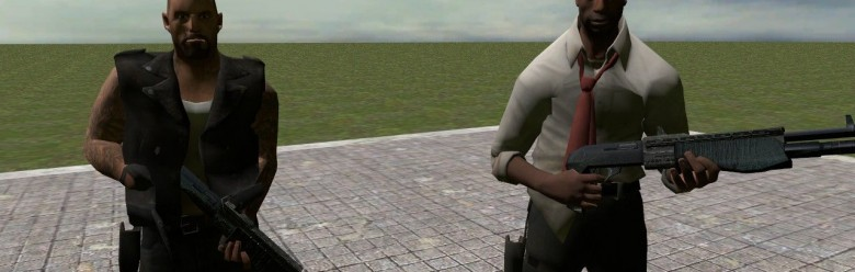 francis_and_louis_npcs.zip For Garry's Mod Image 1