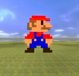 mario_8_bit.zip For Garry's Mod Image 1