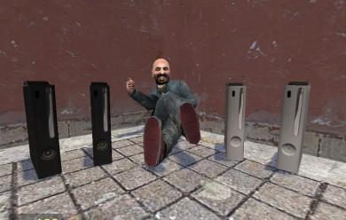 Xbox 360 - Black - White For Garry's Mod Image 1