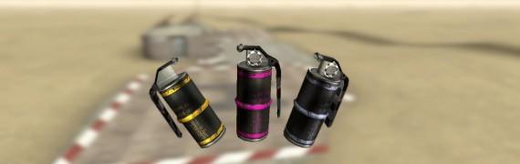 3 Grenades + spawnlist