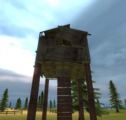 Wooden Sniper Tower For Garry's Mod Image 1