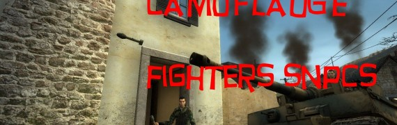 Camoflauge Fighters Snpc Pack