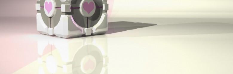 Harmless Companion Cube For Garry's Mod Image 1