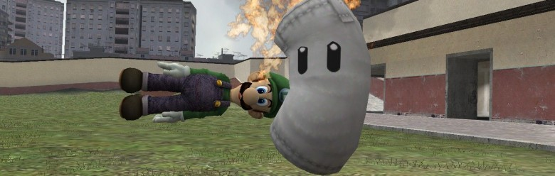 Super Smash Bros Luigi Beta For Garry's Mod Image 1