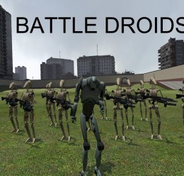 Battle droid NPC Replacement For Garry's Mod Image 1