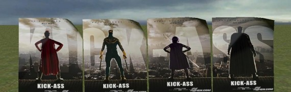 Kick Ass Poster Mini Pack