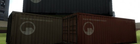 Black mesa container reskin