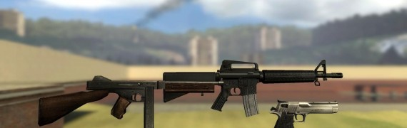 Realistic Weapons Pack V2!