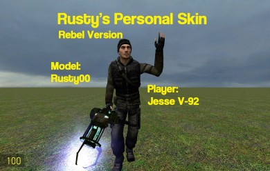 Rusty's Rebel Player For Garry's Mod Image 1