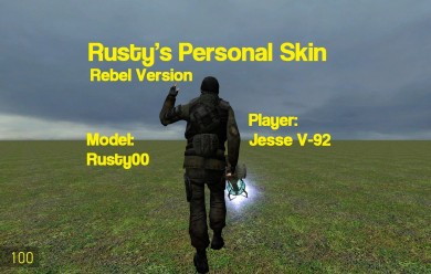 Rusty's Rebel Player For Garry's Mod Image 2