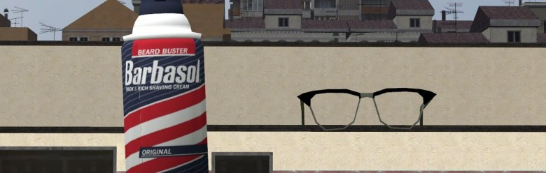 Nedry's Glasses and Barbasol For Garry's Mod Image 1
