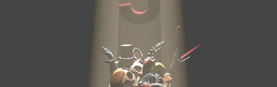 FNAF 3 Box of Toy Animatronics