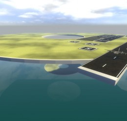 gm_flatgrass_airport.zip For Garry's Mod Image 1