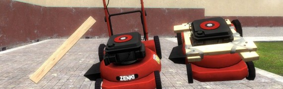 Dead Rising 2 porta-mower item