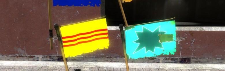 TF2 Vietnam War Flags hexed For Garry's Mod Image 1