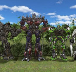Transformers 3 Ragdoll pack For Garry's Mod Image 1