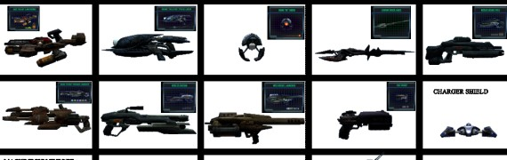 Unreal II: Weapons and Items
