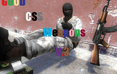 good-css-weapons.zip For Garry's Mod Image 1