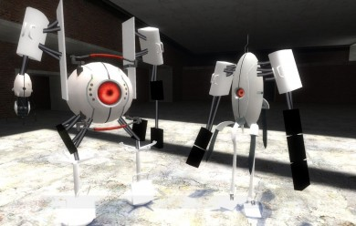 portal_2_robots_v2.zip For Garry's Mod Image 1