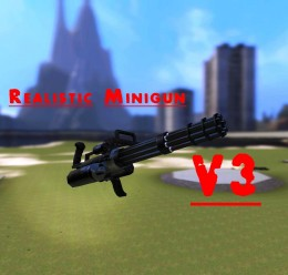 Realistic Minigun V3! For Garry's Mod Image 1