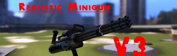 Realistic Minigun V3!