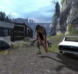 Allosaurus NPC/Ragdoll preview 2