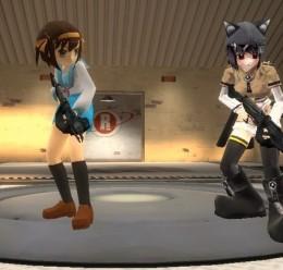 anime_model_pack_part1.zip For Garry's Mod Image 1