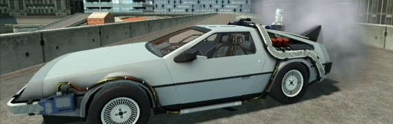 DeLorean wired and working