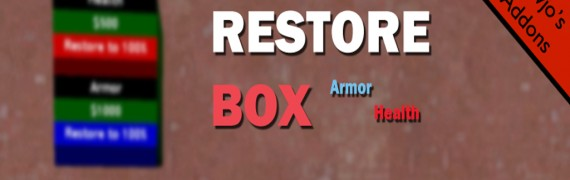 V1.1 RestoreBox (Armor/Health)