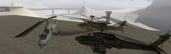COD4 Posable Aircrafts