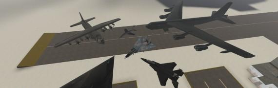 Enhanced air military vehicles