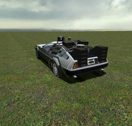 BTTF Delorean *OUTDATED* For Garry's Mod Image 1